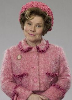 Dolores Umbridge from Harry Potter- ESFJ I've gotta say, Dolores really captures the condescending SJ face. lol