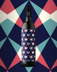 Motif Wine.  Designed by Kristina Bartosova of EN GARDE Interdisciplinary, Austria & Germany.
