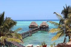 Jetty @ our resort in Zanzibar