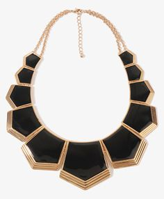 Cleopatra Style Necklace - Forever21 - $12.80 BeingCleopatra.blogspot.com