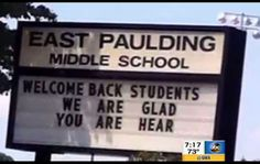 Paulding school's spelling snafu makes 'Good Morning America'