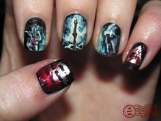 8 geeky nails