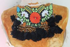 Cute  embroidered    and beaded  flower  applique  1 by paviapavia, $3.95