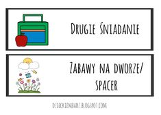 Dzieckiem bądź: Ilustrowany plan dnia DO POBRANIA Cinema, How To Plan, Education, Movies, Onderwijs, Learning, Movie Theater