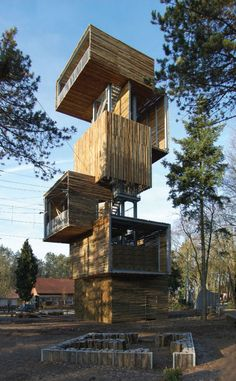 Nice viewing tower.