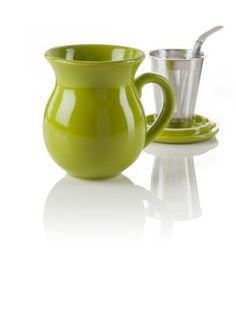 Update: Yup, got this one, too. My kids are awesome! Curve Green Infuser Tea Mug