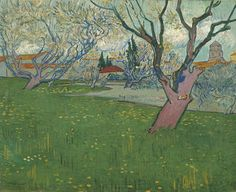 Vincent Van Gogh「Orchard in Blossom」(1889)