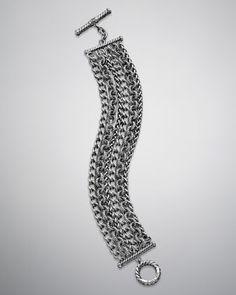 six row chain bracelet