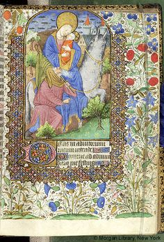 Book of Hours, M.63 fol. 51r - Images from Medieval and Renaissance Manuscripts - The Morgan Library & Museum