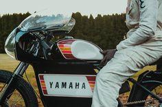 Engine engine 25 - Yamaha DT250   Return of the Cafe Racers