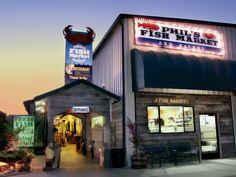 Phil's Fish Market & Eatery in Moss Landing, California.