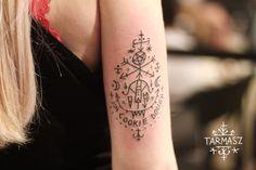 Buffy the Vampire Slayer based arm tattoo
