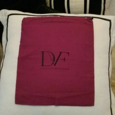 Shop Women's Diane von Furstenberg size 13X16 Travel Bags at a discounted price at Poshmark. Description: Fushia DVF drawstring dust bag cover All authentic in excellent condition. Sold by orandle. Fast delivery, full service customer support.