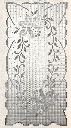 World crochet: Tablecloth 95
