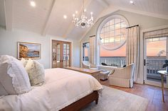 dream beach house master bedroom