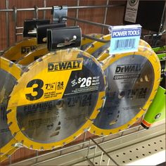 Circular Saw Blade 3-Pack Grid Hook Hung