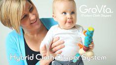 GroVia Hybrid Cloth Diaper System