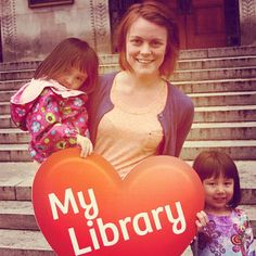 Showing some #librarylove at Central #library #multcolib