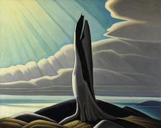 The Group of Seven - North Shore, Lake Superior by Lawren Harris