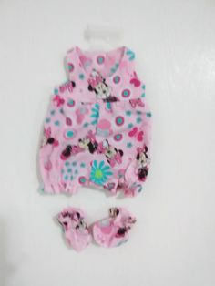 """Reborn Baby Doll Baby Toy Romper Clothes New Animal Style Clothing For 10/""""-11/"""""""