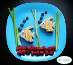 Creative food ideas for kids by angela Fishies!