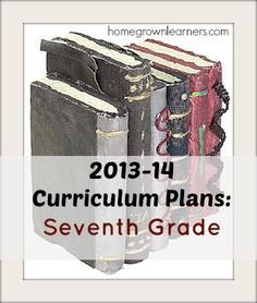 - Curriculum Plans for Seventh Grade