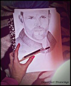 Jason Statham, Carolina Dudrova, Imperfect-drawings, draw, pencil,sketch, man, handsome, art