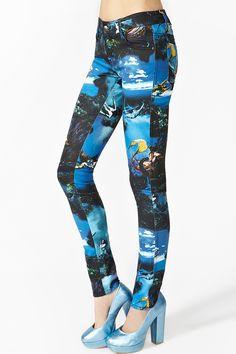 Mermaid Skinny Jeans
