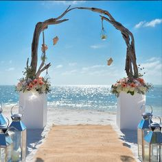 Gorgeous wedding at Little Palm Island Flower and decor by Avant Gardens Miami Planner: Simply You Key West Photography: Junior Gamez Photography