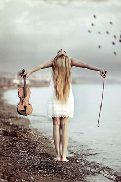 The freedom violin allows. I love how freeing it is to play the violin. Having those moments when I feel like there is nothing I would rather do than play my violin