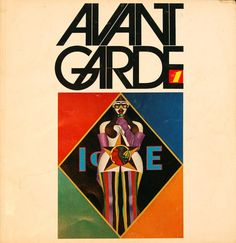 Cover of Avant Garde magazine, issue No. art directed by Herb Lubalin. Courtesy of Herb Lubalin Study Center Herb Lubalin, Typography Poster, Graphic Design Typography, Logo Design, Type Design, Graphic Art, Creative Typography, Design Web, Wright Flyer