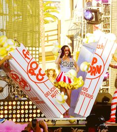 Katy performing at the Katy Perry: Part Of Me 3D Premiere - 06/26/2012