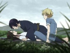This IS Noragami right?? I haven't seen it for a while so I don't really remember this part