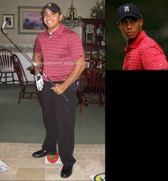 Tiger Woods-1 ... DIY Creative Costumes