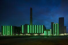 Grünes Licht für Düsseldorf - Gaskraftwerk von kadawittfeld