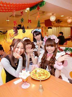Welcome Home! Master! Princess!  japanese maid cafe
