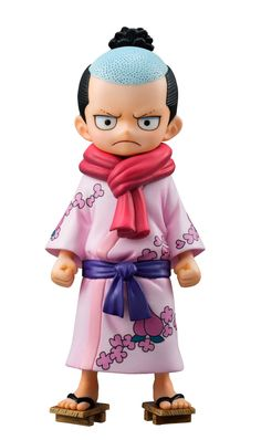 Estatua Momonosuke 10 cm. Excellent Model P.O.P. One Piece. Megahouse Estupenda estatua del protagonista Momonosuke de 10 cm de altura perteneciente a la línea Excellent Model P.O.P. visto en popular manga/anime de One Piece y fabricado en PVC.