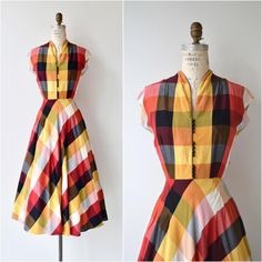 New • 1950s Quarto dress • xs/s