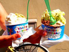 Italian Ice cream at Sirmione