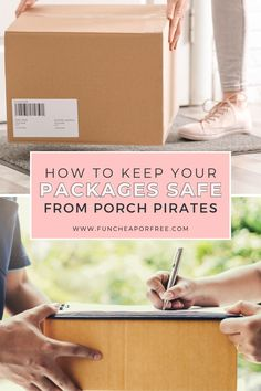 The holiday season is the perfect time for Porch pirates to steal all of your online purchased gifts. How rude. Just in time for the busy shopping season, we're sharing our best advice to safeguard your home from package theft. Family Activities, Pirates, Life Hacks, Porch, Packaging, Balcony, Porches, Front Porches, Lifehacks