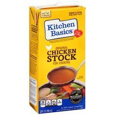 Best Tasting Chicken Stock Kitchen Basics Original Chicken Stock For Cooking 32 Fl Oz Natural Cooking Natural Kitchen
