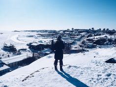 Why visit Yellowknife? Continents, Travel Guides, Mount Everest, North America, Northern Lights, Remote, Road Trip, To Go, Cold