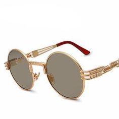 c7f5f4895a 2015 IRON MAN 3 Matsuda TONY Steampunk Sunglasses Men Mirrored Designer  Brand Glasses Vintage Sports Sun glasses - Intl
