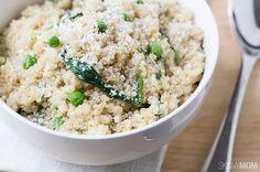 Recipe: Quinoa Spinach Parmesan Risotto