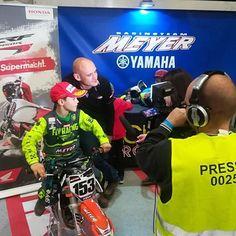 @meyerracing  Max first TV Interview @magura_official @motul @hondamotorrad_de @yamahamotorde @bridgestoneeurope @ti_graphics @zaptechnix94 @gdbuttpatches @flyracingusa @zupin_motosport @zaptechnix94 @ #zupinsupportedriders #flyracing