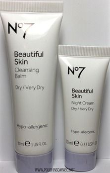 Boots No. 7 Beautiful Skin Cleansing Balm and Night Cream