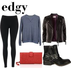 how to wear boots : edgy