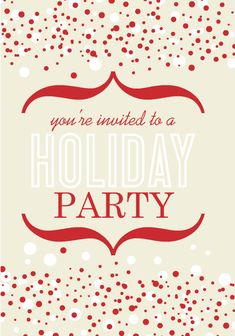 Mysoon Taha Portfolio: Company Christmas party invitation ...