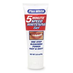 Best and cheapest teeth whitener around (Walgreen's carries it)