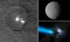 A mysterious haze has appeared over Ceres' alien white spots
